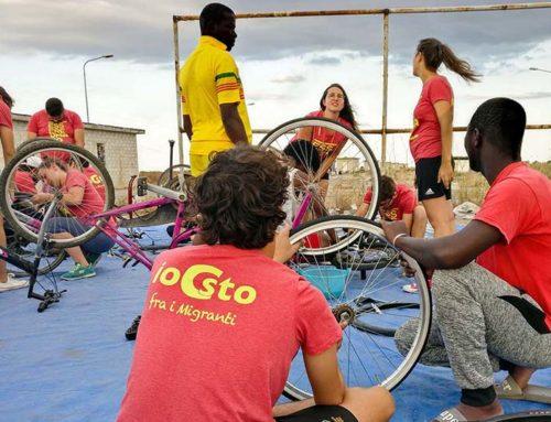 Campo Io Ci Sto fra i migranti 2020